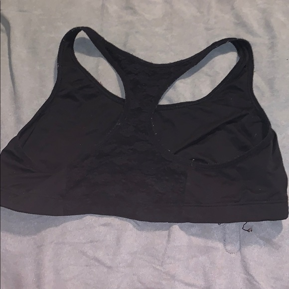 PINK Victoria's Secret Other - Black Lacey sports bra